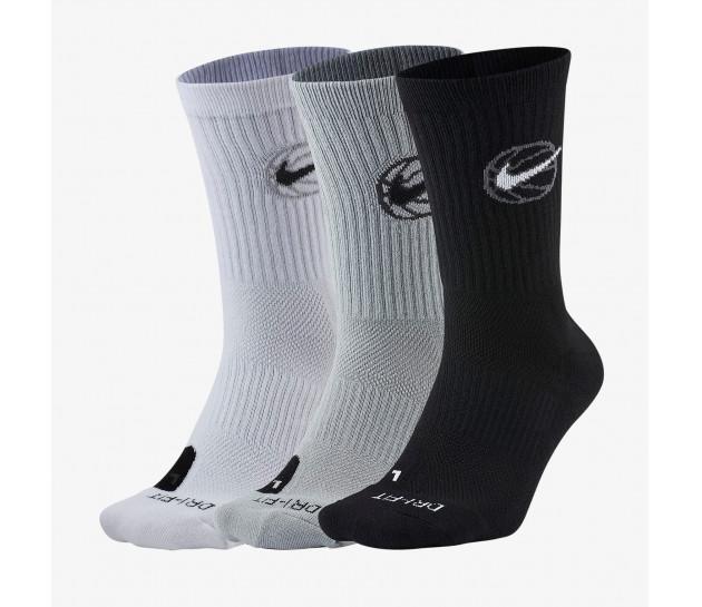 Nike Everyday Crew Basketball Socks (3 Pair) - Баскетбольные Носки