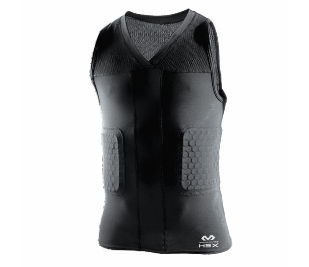 McDavid Hex® Tank Shirt/3-Pad - Компрессионная майка с защитой