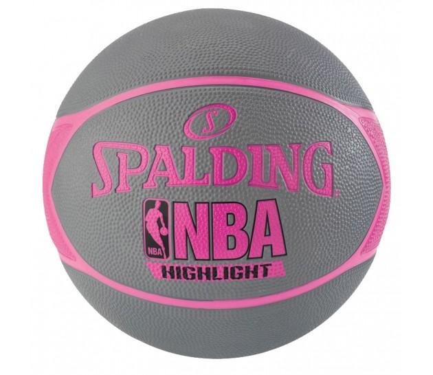 Spalding NBA Highlight 4HER Outdoor - Баскетбольный Мяч